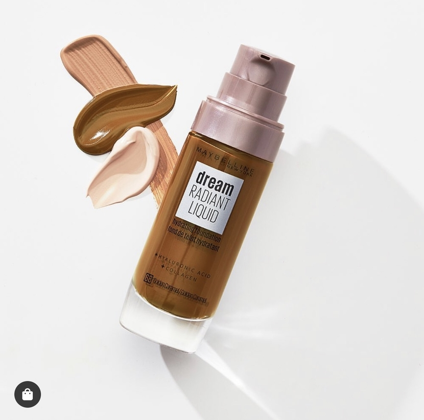Maybelline Dream Radiant Liquid Hydrating Foundation - what's new at the drugstore January 2020