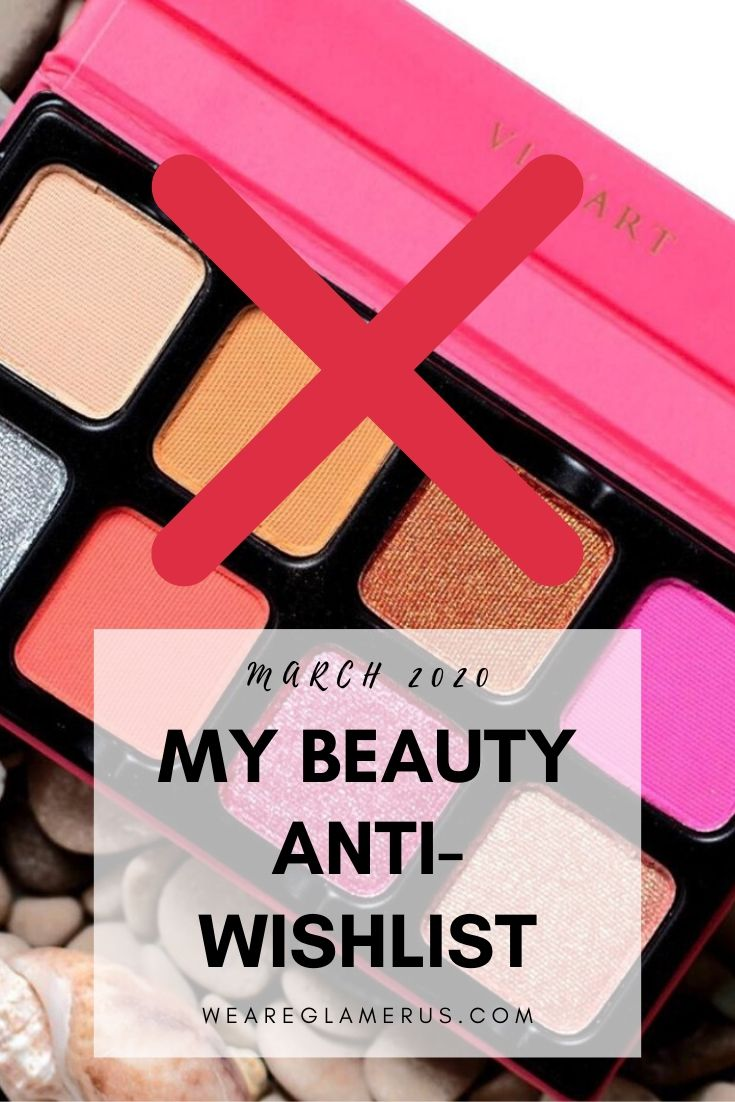Check out my latest beauty anti-wishlist with new launches from Glossier, Viseart, Patrick Ta, Tom Ford and ColourPop!