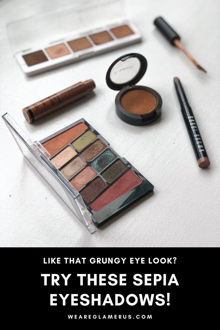 Check out my latest post with my favorite sepia eyeshadow recommendations!