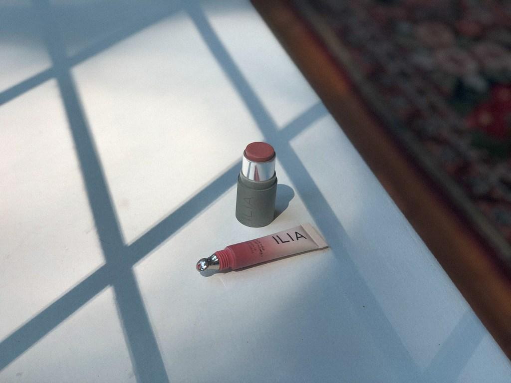 ILIA cream blushes - Color Haze Multi-Use Pigment and the Multi Stick