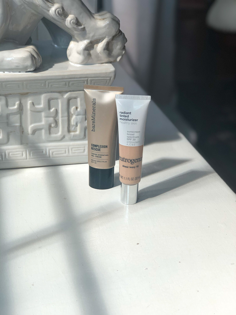 Comparing two tinted moisturizers in today's blog post!