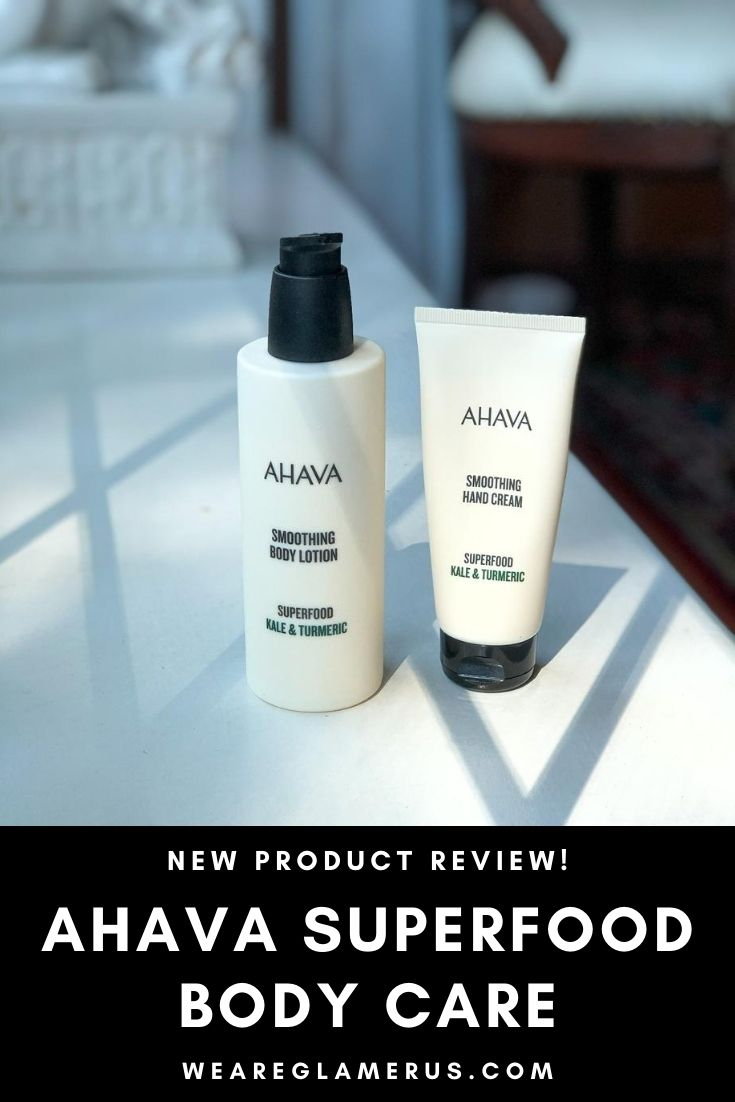 Today I dive into some new luxury body care bits from natural brand AHAVA