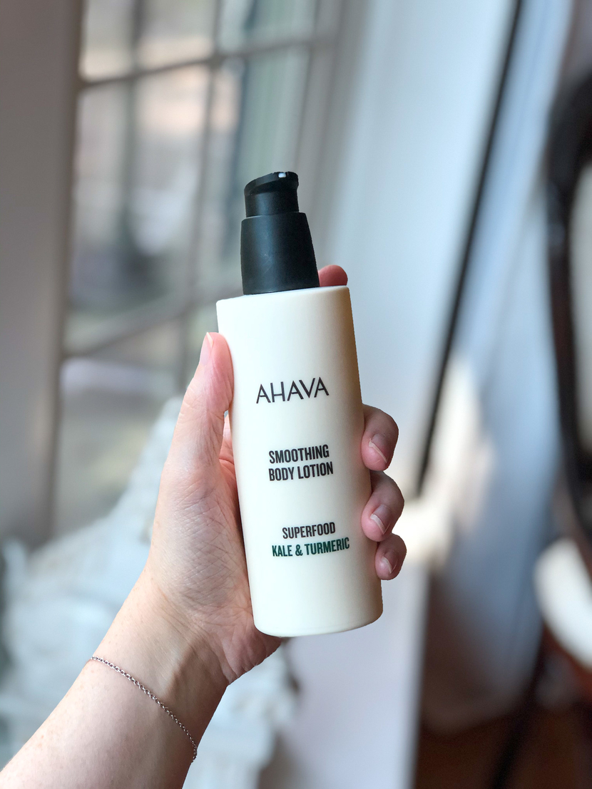 Ahava Superfood Smoothing Body Lotion