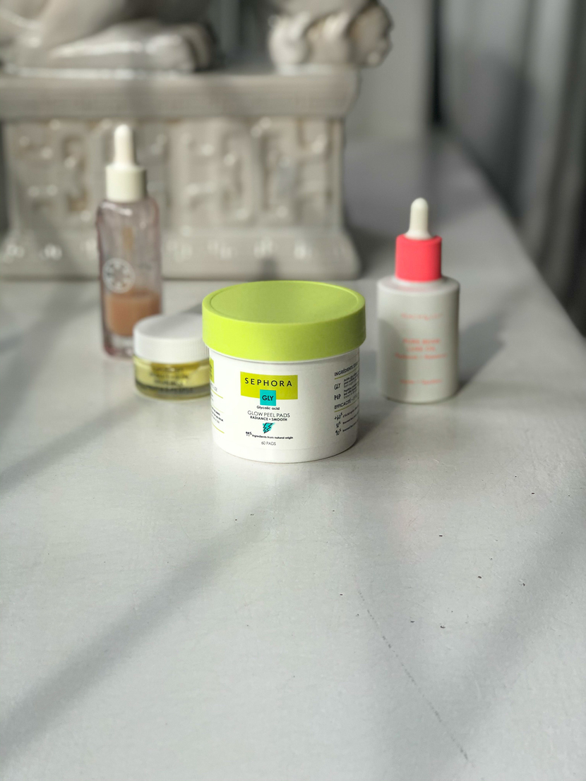 Sephora Glow Peel Pads - how I've added glycolic acid to my skincare routine
