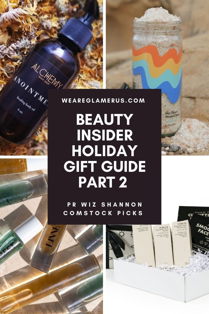 Welcome to the second installment in my Beauty Insider Holiday Gift Guide series! Here, Note PR Co-Founder Shannon Comstock picks her favorite feel-good products for the holiday season!