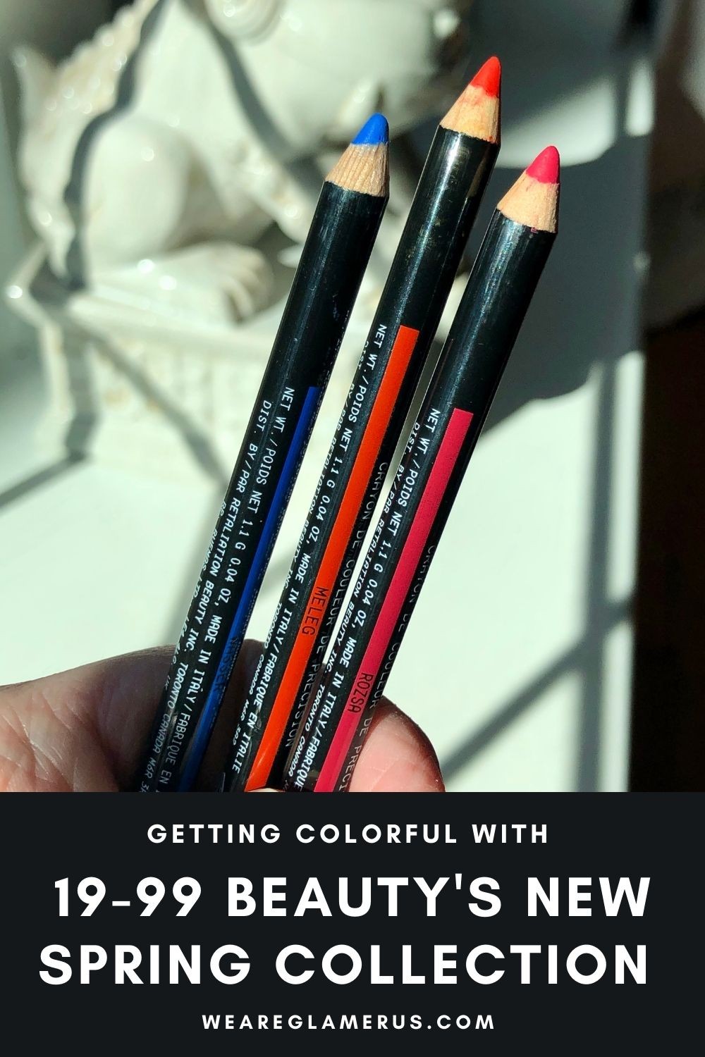 Take a peek through 19-99 Beauty's new spring collection of Colour Precision Pencils in today's post!
