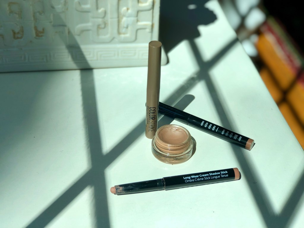These are my go-to, everyday eyeshadows from Maybelline, MAC, & Bobbi Brown!