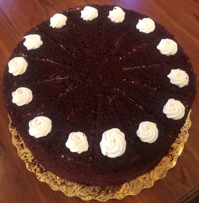GLASS 2nd Anniversary Cake Edited