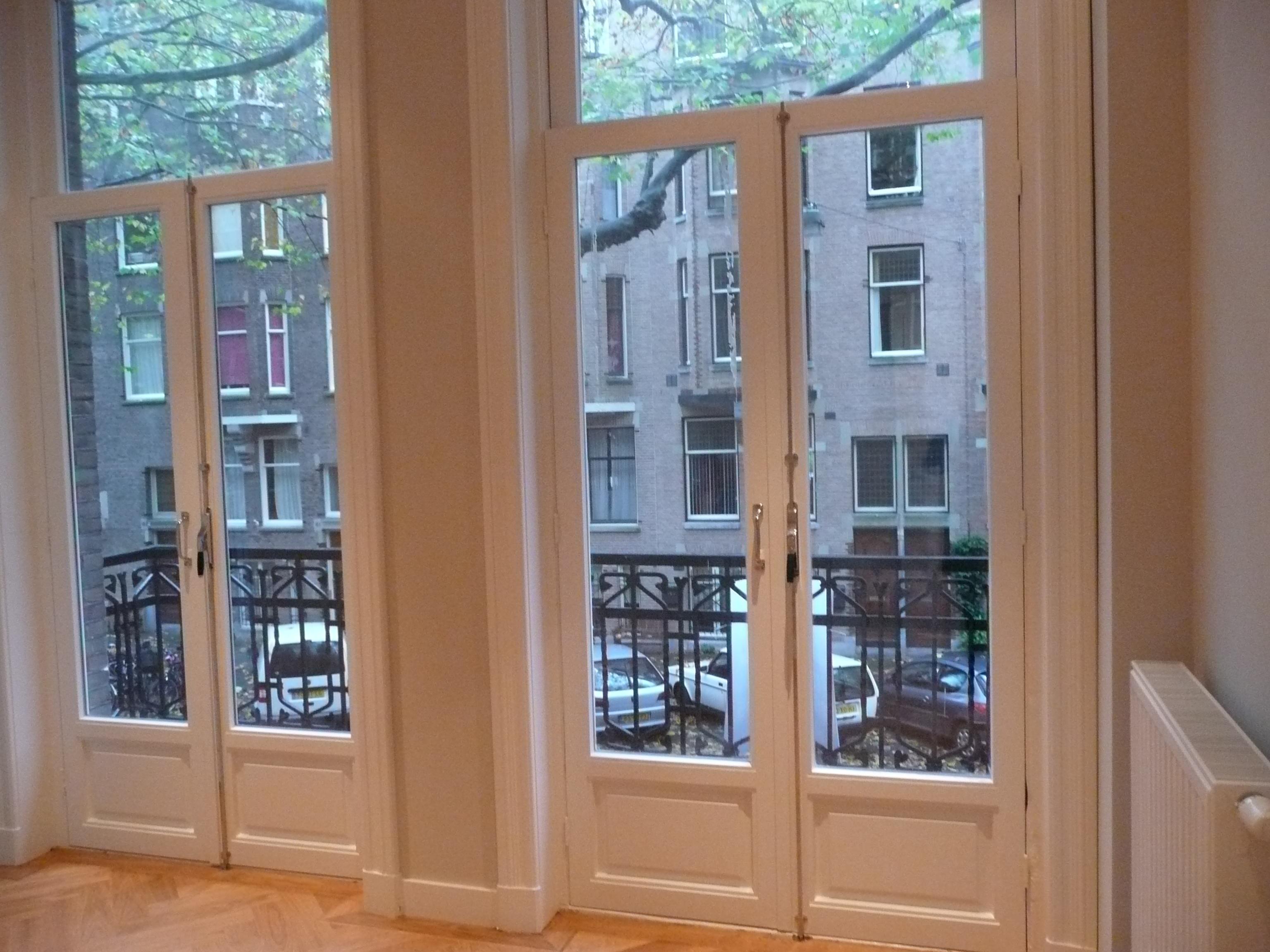 Guest Bedroom French Doors to Balcony