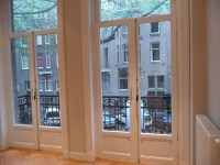 Guest Bedroom French Doors to Balcony | The Clog Blog