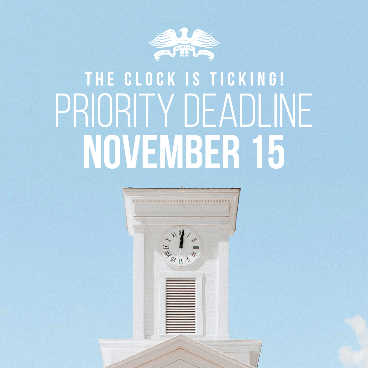 Priority Deadline- MMI