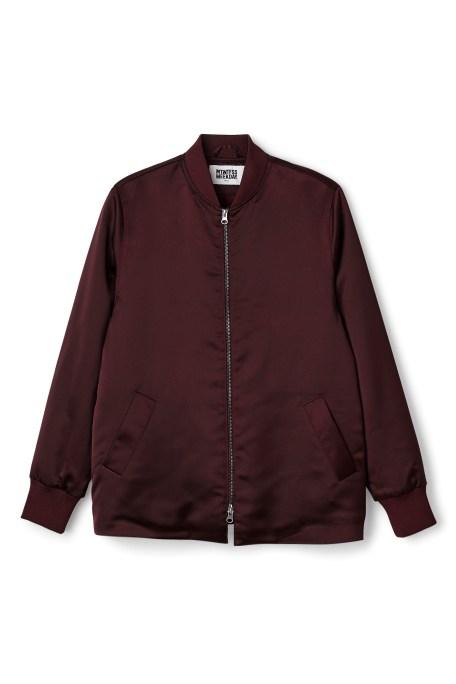 The padded bomber jacket