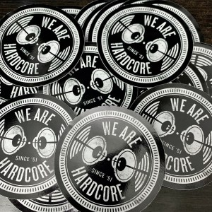 Jay Cunning - WE ARE HARDCORE T-Shirt - STICKERS