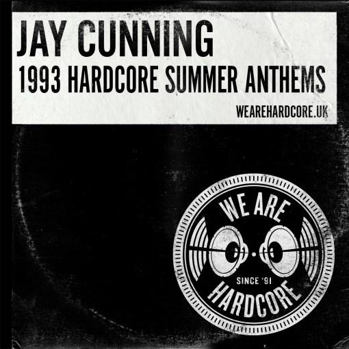1993 Hardcore Summer Anthems - Jay Cunning WE ARE HARDCORE