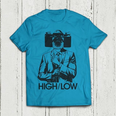 Want one? You can get a limited amount with our pre order bundles. Have a look here - www.wearehighlow.co.uk #albumnumber2 #autospy #altrock #grunge #fuzz #tshirt #spy #art #print