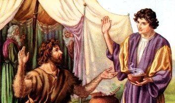 Esau, Esau killed nimrod, Esau Kills Nimrod
