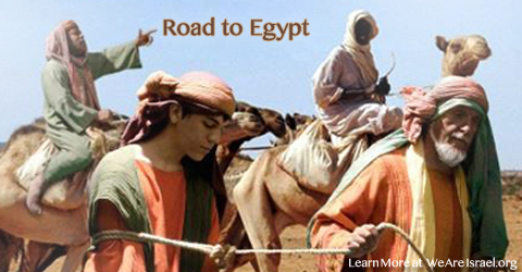 Road to Egypt, Joseph, Yasher 42, Yasher 43, Yasher 44,