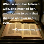 Bill of divorcement, Deuteronomy 24 1-4, divorcement bill, Yasher 21