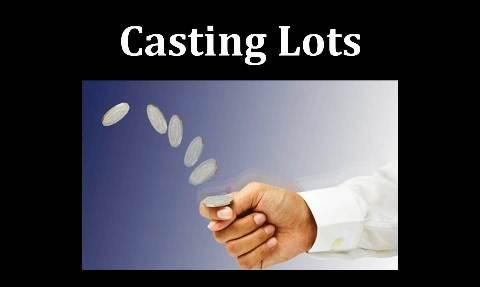 decisions decisions - casting lots
