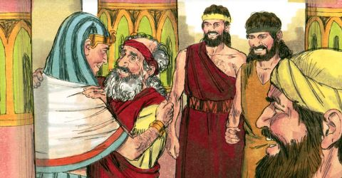 Jacob Sees Joseph, Yasher 55, Genesis 46