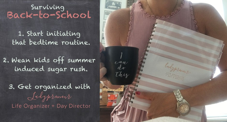 back to school, back-to-school, day planner, organization, mom boss, coffee, fossil watch, erin condren