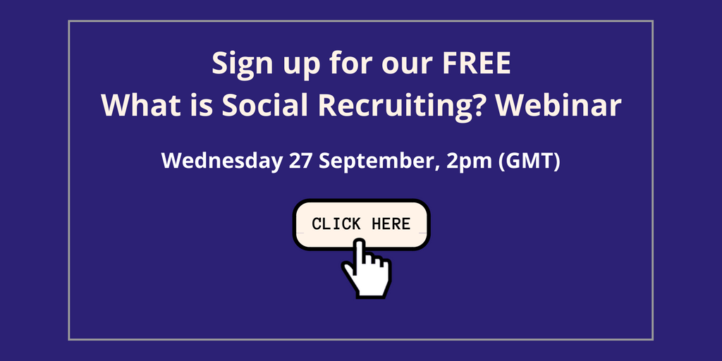 What is social recruiting webinar
