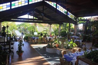One of the hotel´s restaurants