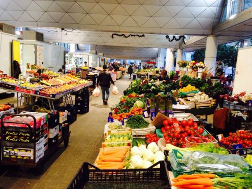 La Spezia fruit and vegetable market