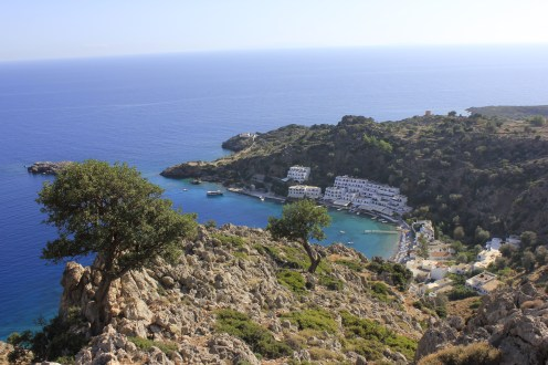 Loutro from the top