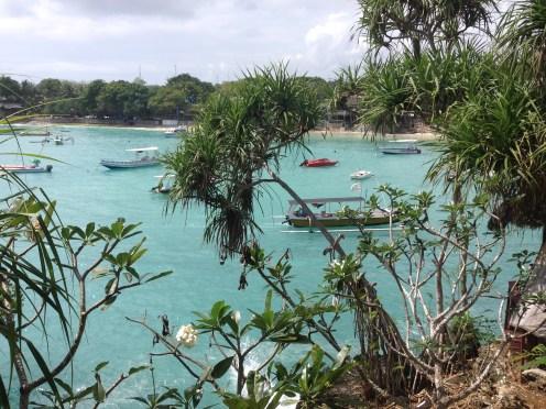 A beautiful bay on Nusa Lembongan