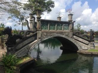 Bridge at Tirta Gangga