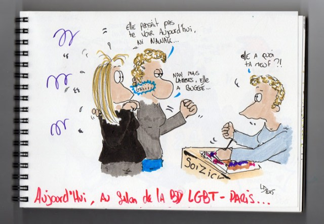Salon BD LGBT à Paris