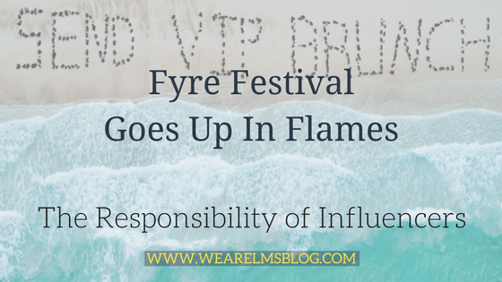 Fyre Festival Goes Up In Flames