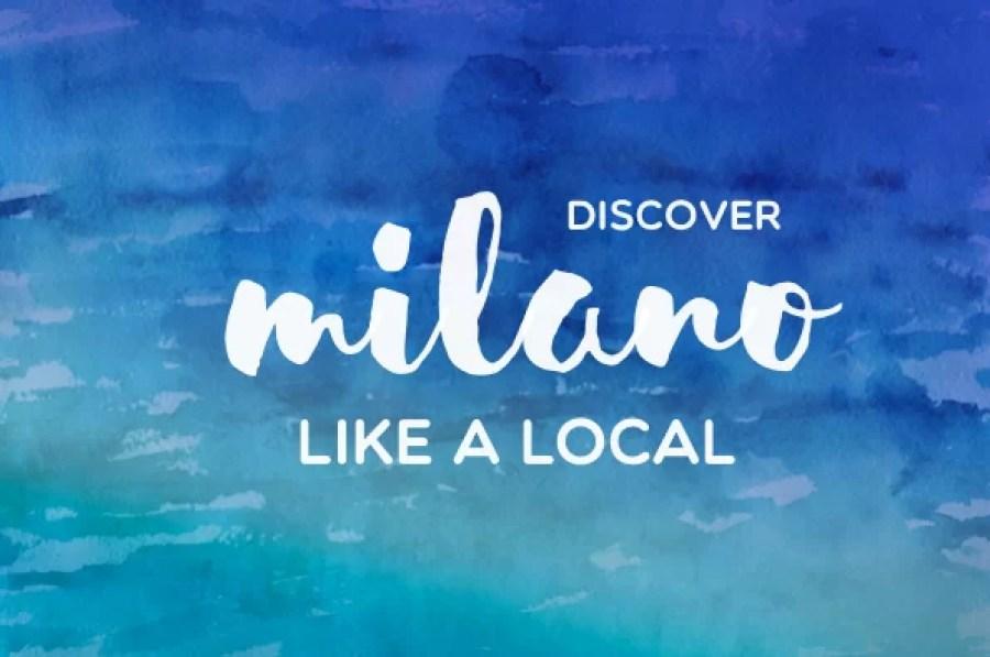 MILANO LIKE A LOCAL