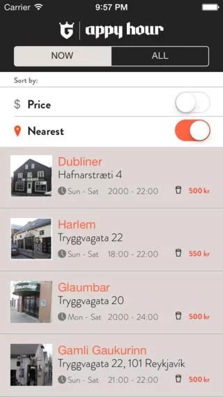reykjavik happy hour app2