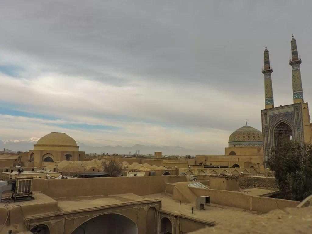 L 'ocra delle città in Iran: panoramica di Yazd