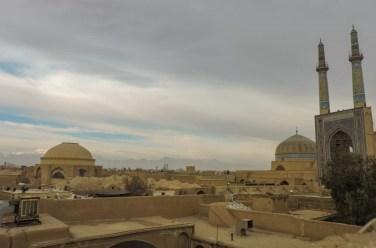 Una panoramica di Yazd