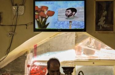 Ristotrante in cui si cucina abgoosht nel bazaar di Isfahan