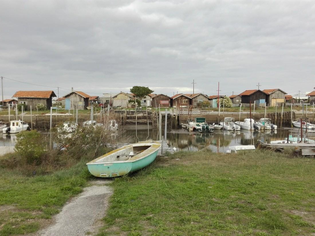 Il piccolo porto di Gujan-Mestras
