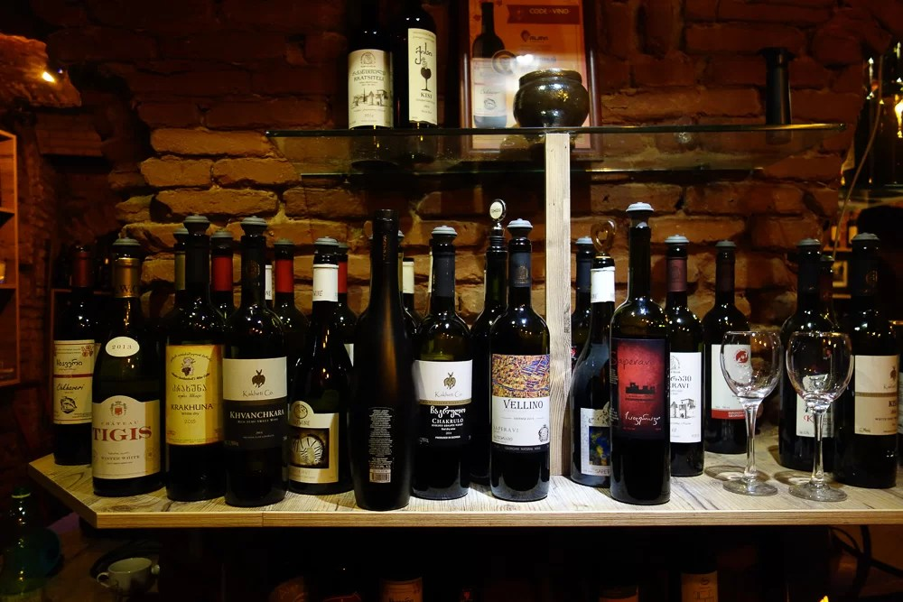I vini georgiani sono sorprendentemente buoni