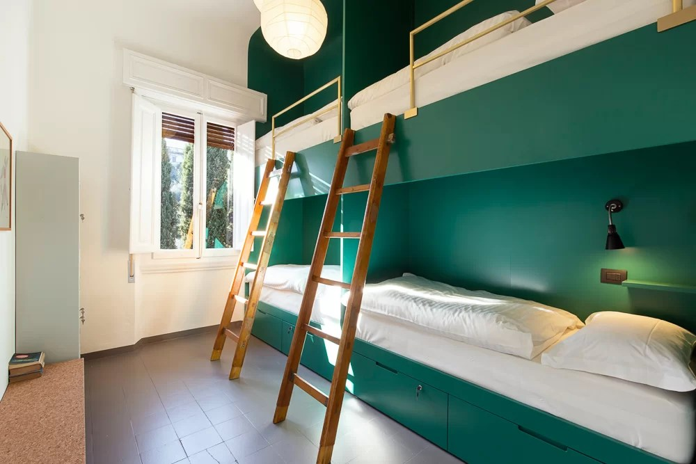 La camera per viaggiatori solitari del MoSì B&B a Firenze