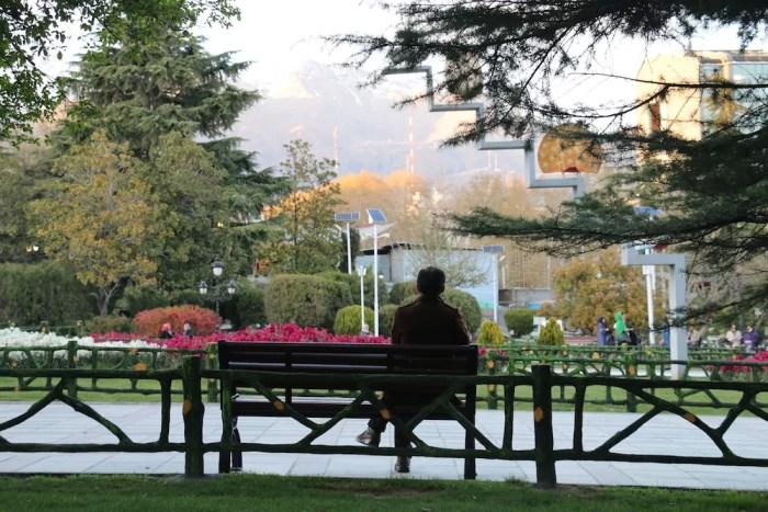 Mellat Park a Teheran, in Iran