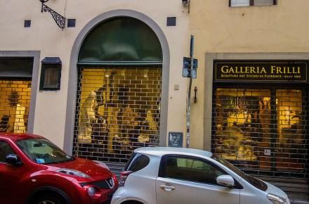 La galleria Frilli in via dei fossi 26 a Firenze