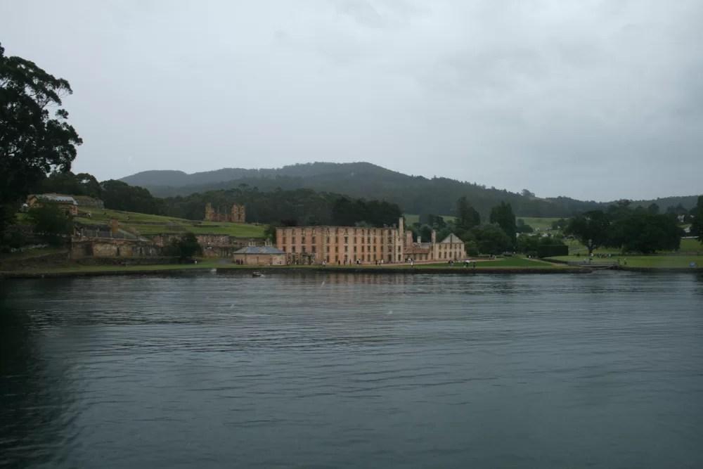 L'ex-prigione a Port Arthur, sito UNESCO situato in Tasmania
