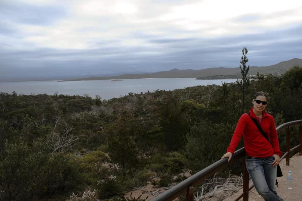 La Winw Glass Bay, una delle spiagge più belle dell'Australia in Tasmania