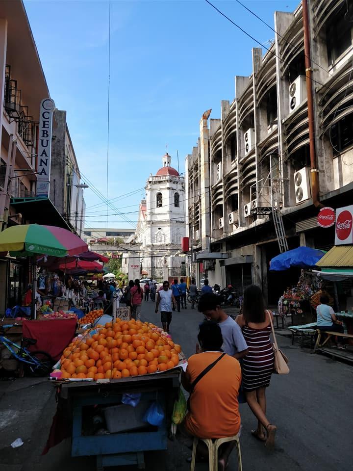 Strade di Cebu nelle Filippine