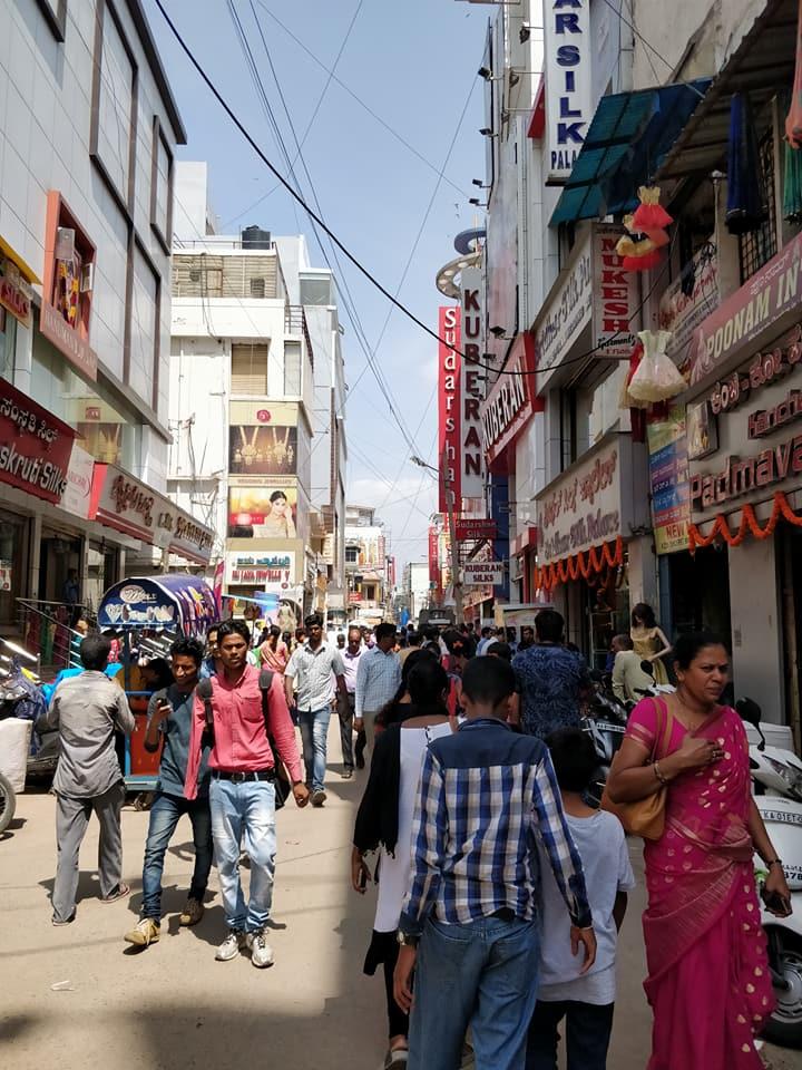 chickpet, quartiere indiano di Bangalore