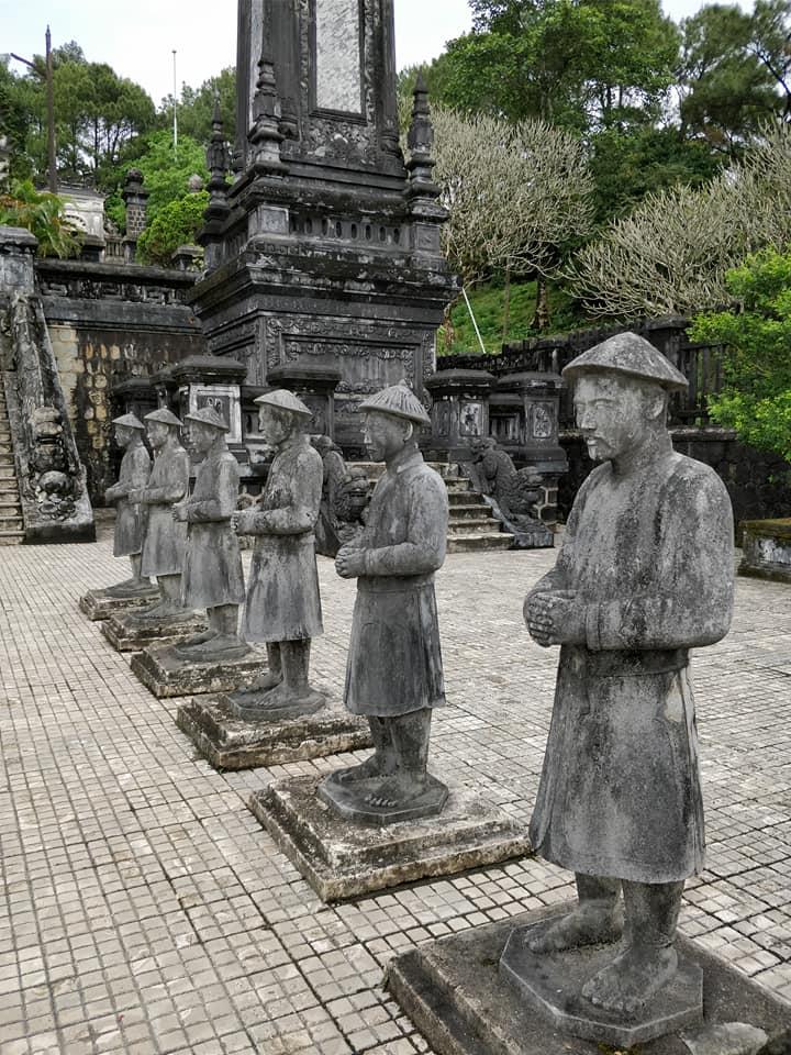 Khai Dinh Tomb a Hue in Vietnam