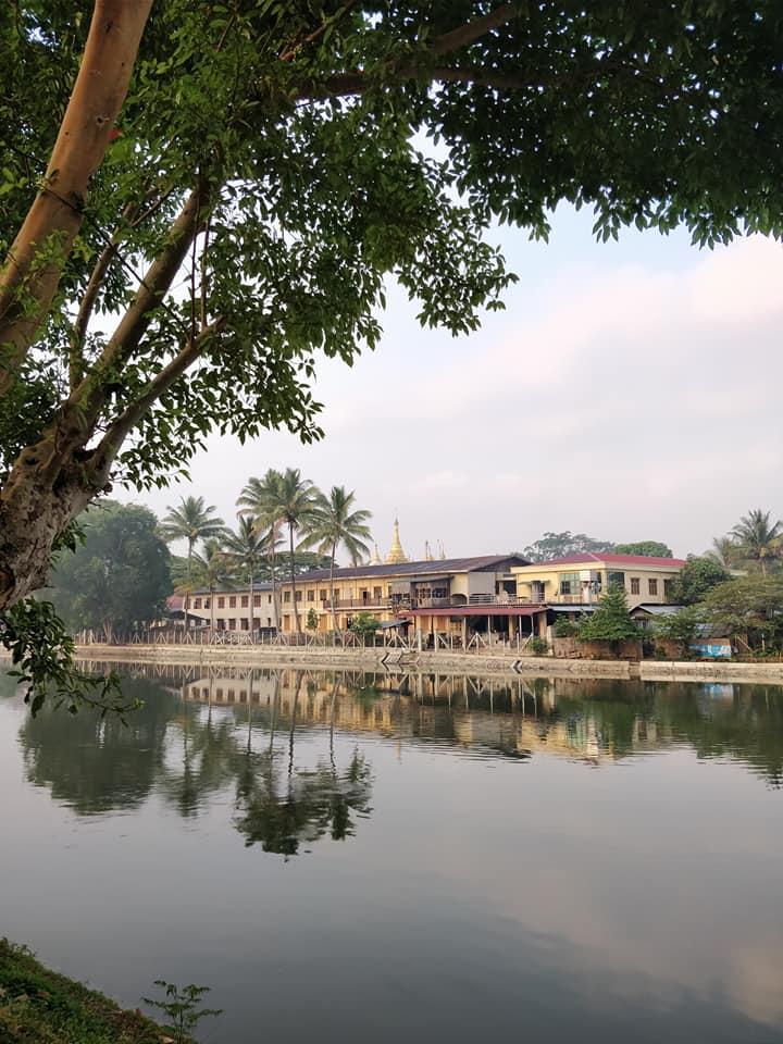 Scorci idilliaci di Loikaw in Myanmar