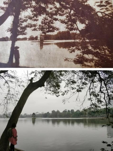 la pagoda sul lago ad hanoi